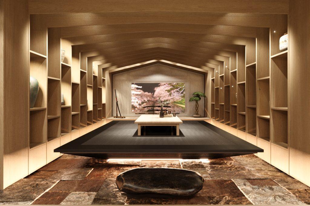 Японская комната в современном стиле