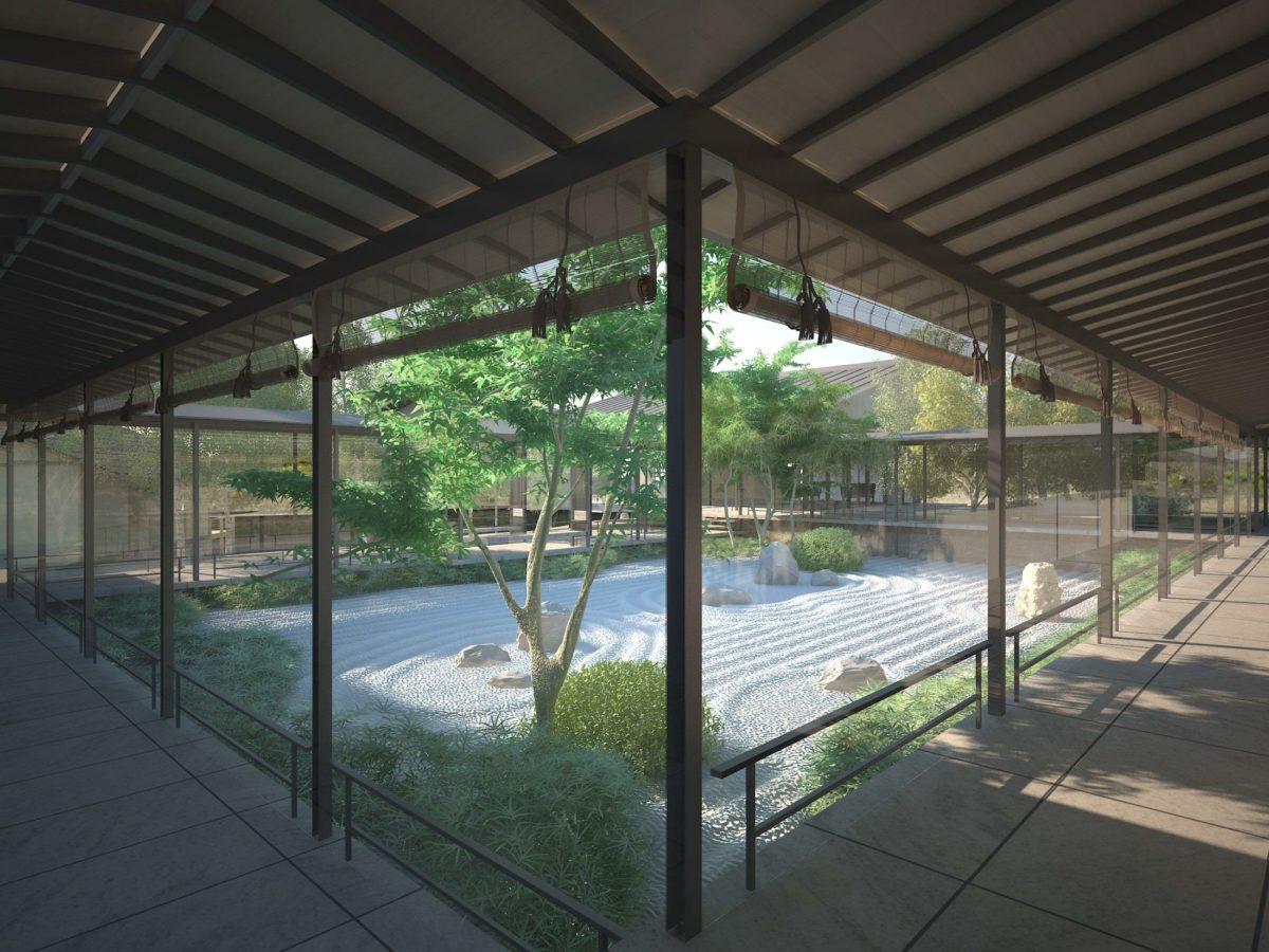 Гостевая зона в японском стиле