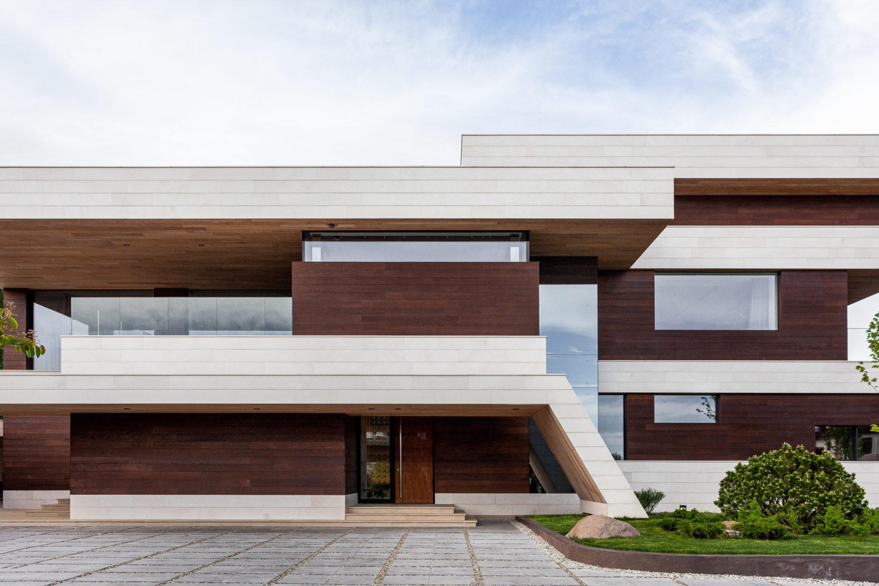 Архитектура домов минимализм