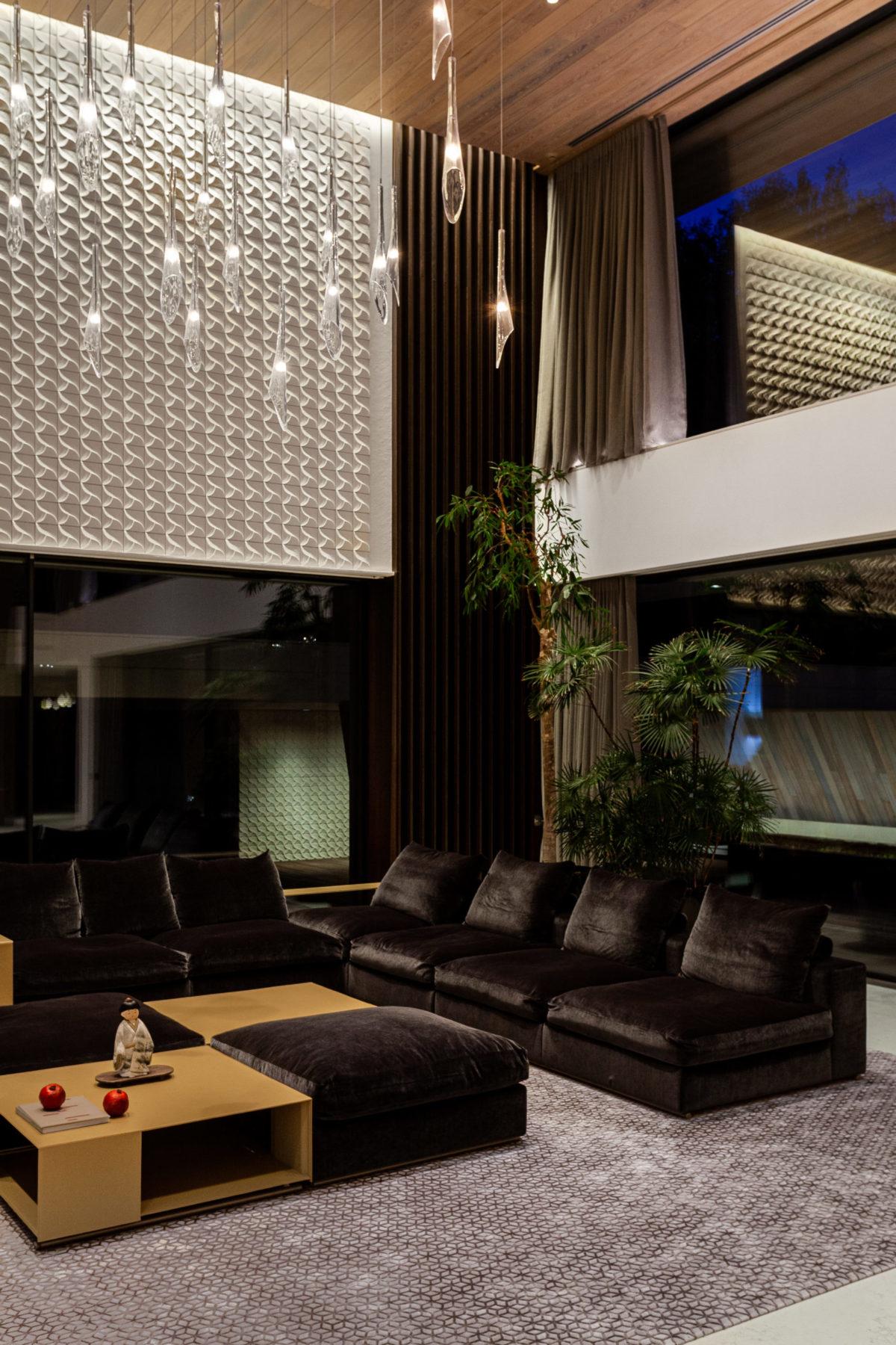 Японский минимализм гостиная