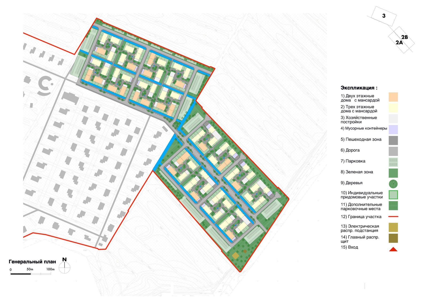 Мастер-план коттеджного поселка