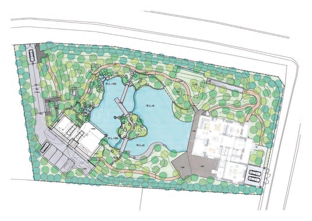 Мастер-план японского сада