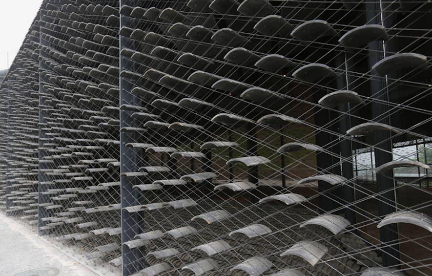 Фасад в стиле минимализм