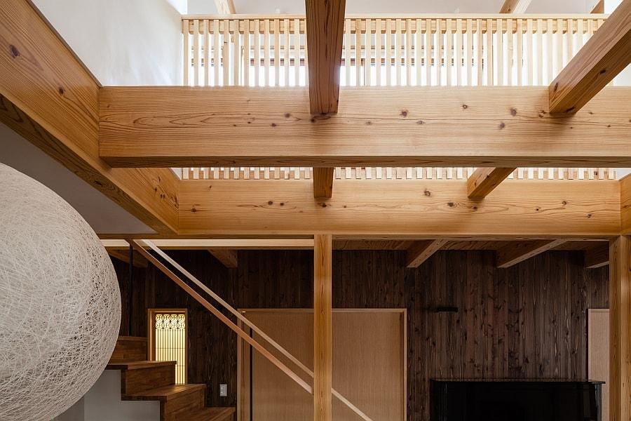 Деревянный дом в японском стиле