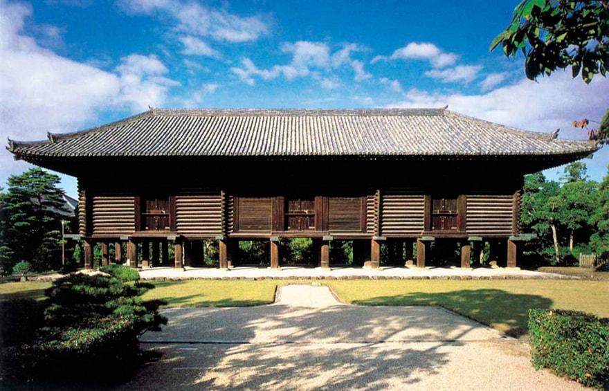 Традиционная деревянная архитектура Японии