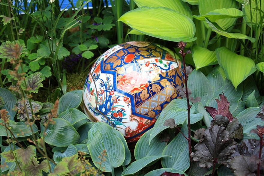 Декоративные элементы в японском саду