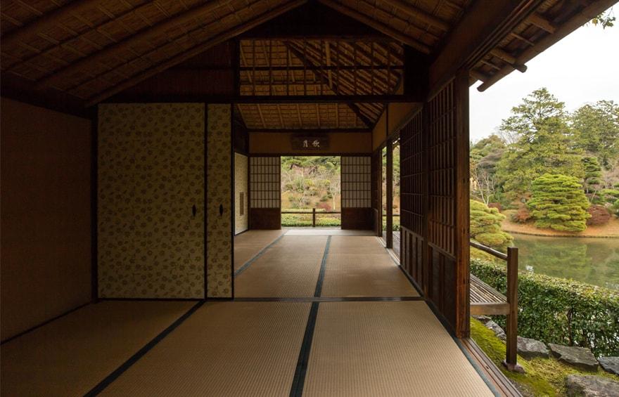 Японский архитектурный ландшафт