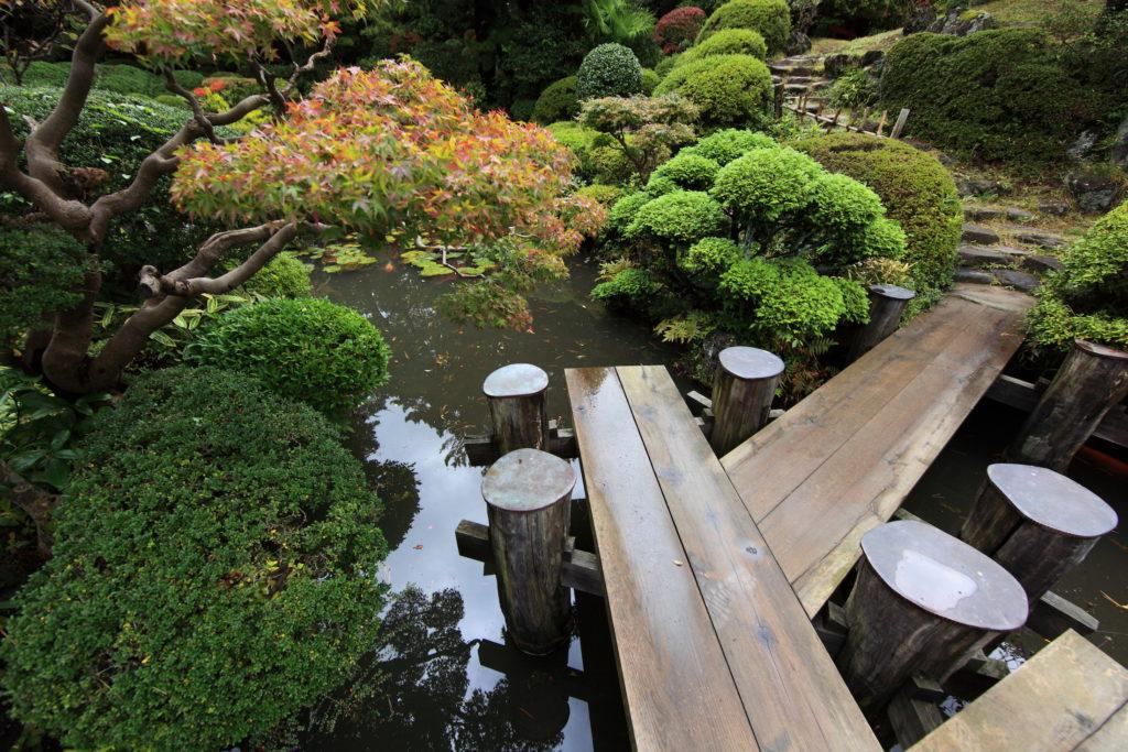 Ландшафтный японский дизайн