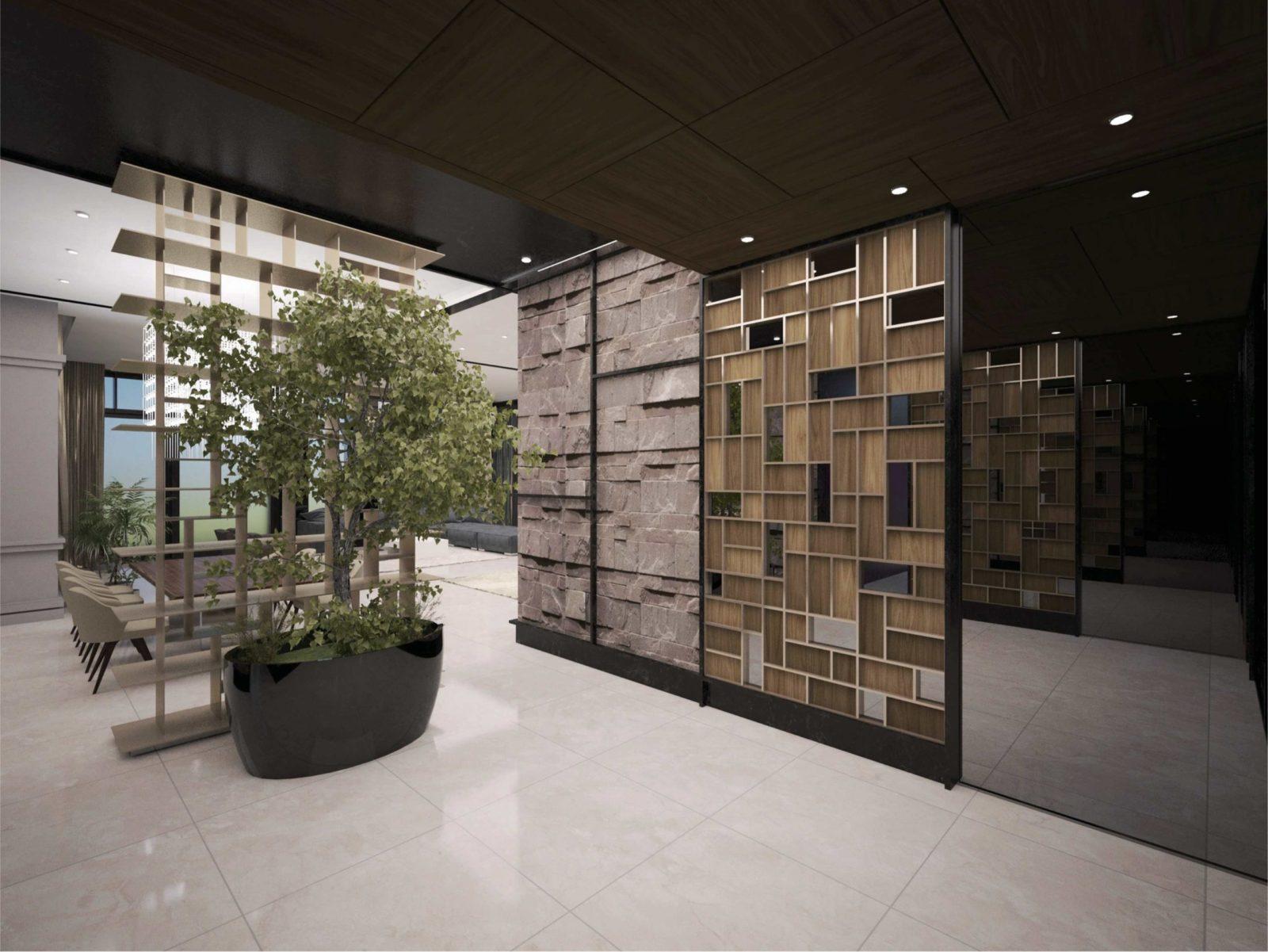 Хай-тек дизайн гостиная