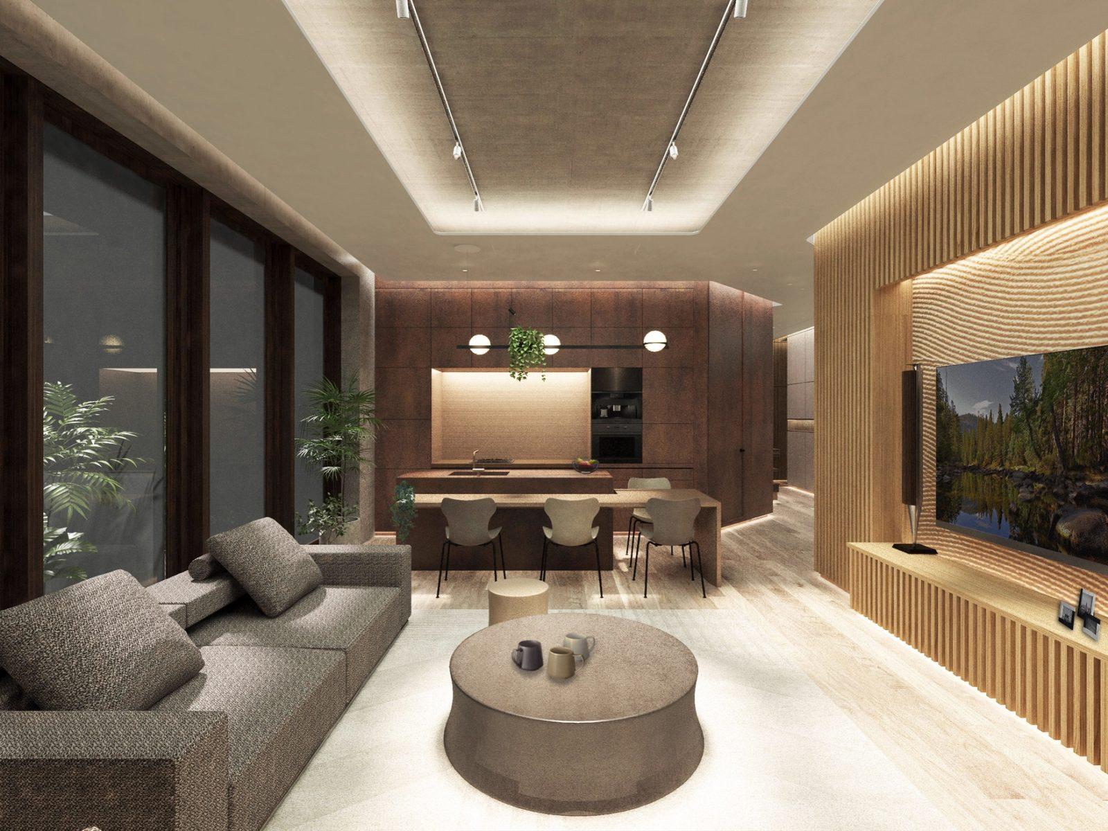 Интерьер японской квартиры фото