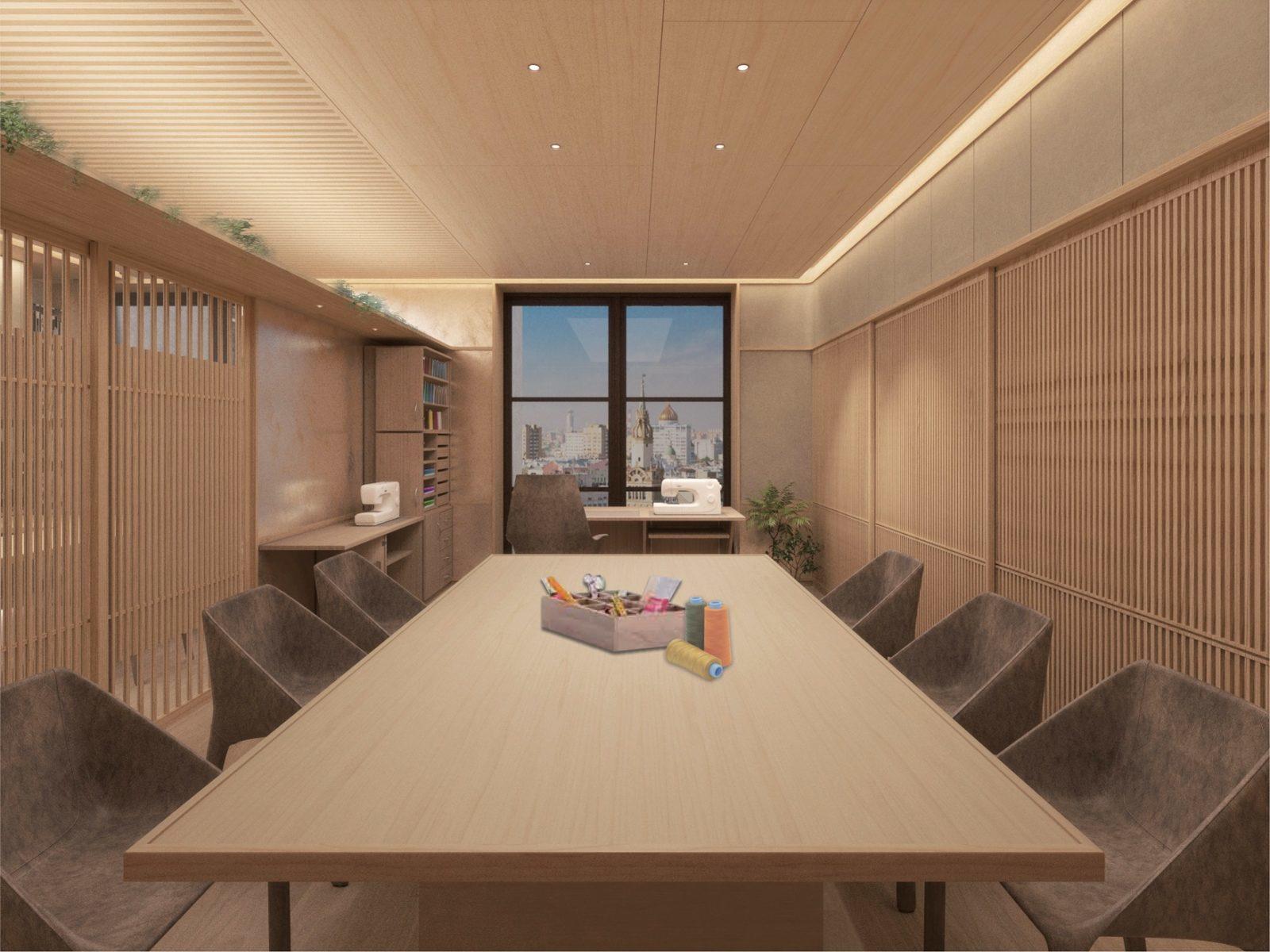 Офис в японском стиле
