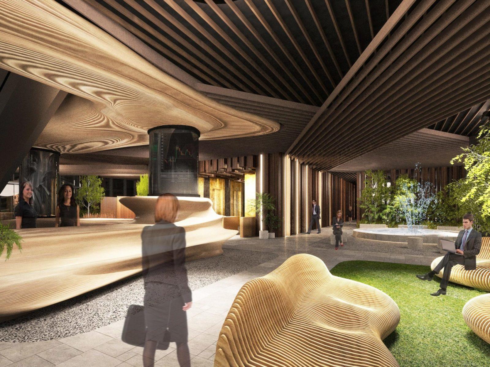 Дизайн бизнес-центра