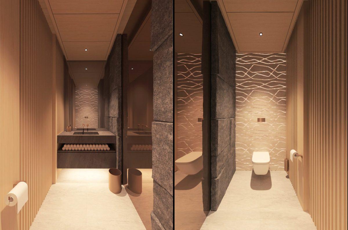 Роскошный туалет