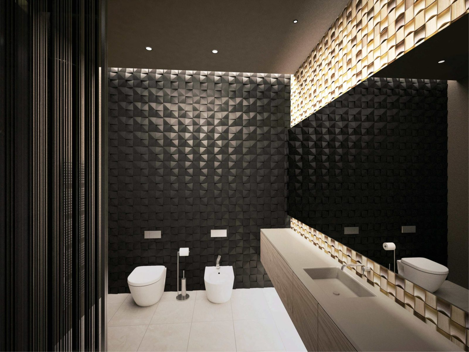 Туалет в японском стиле
