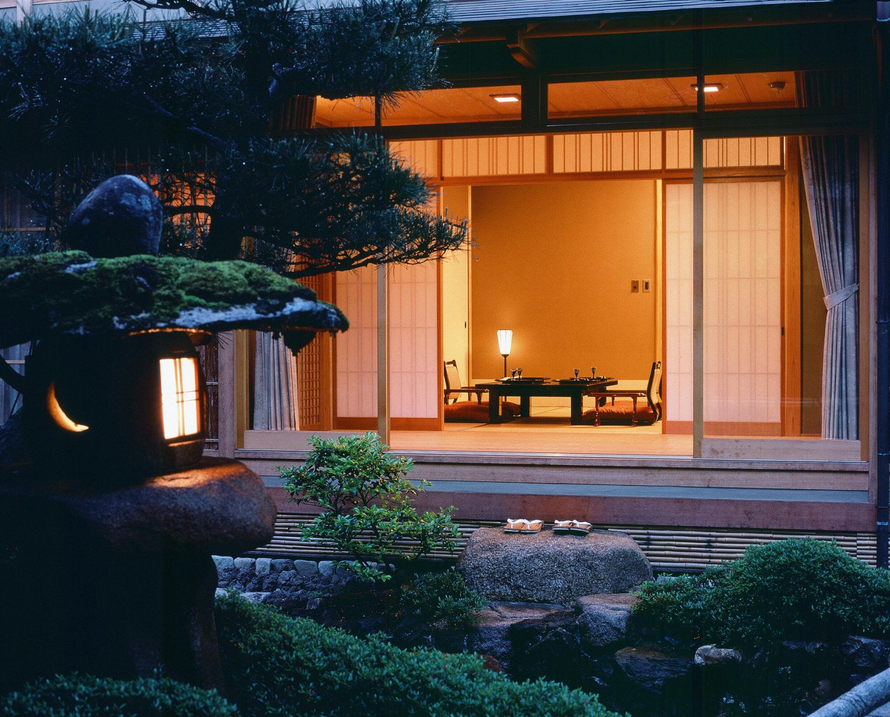 Гостиница в японском стиле
