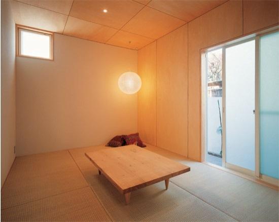 Японская комната в стиле минимализма