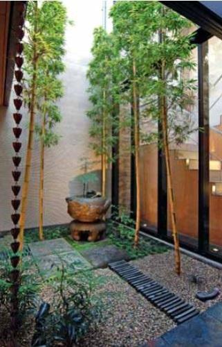Традиционный внутренний сад