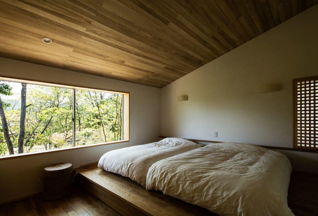 Спальня японский минимализм