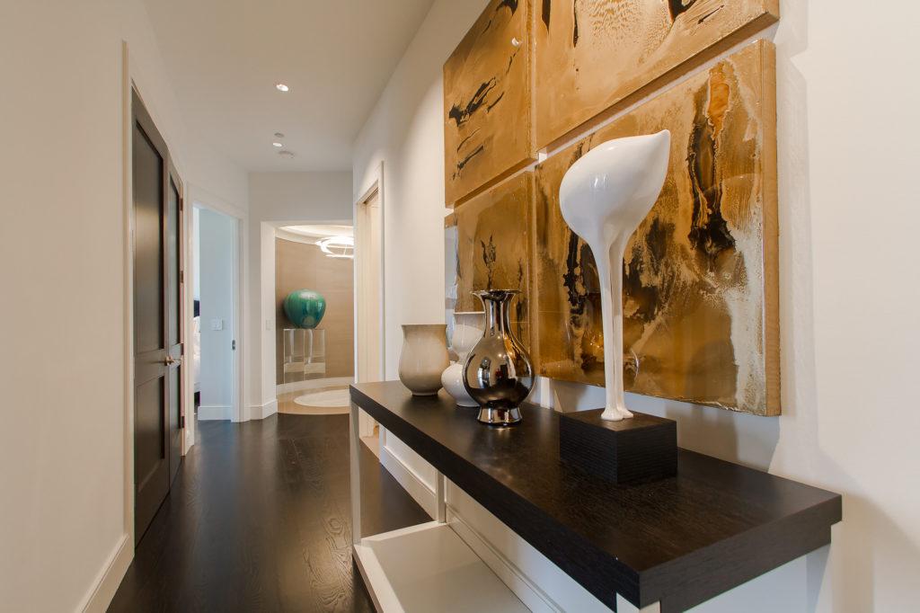 Элитный дизайн интерьера коридора